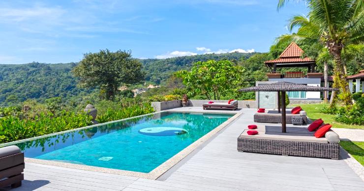 Luxury 8 Bed Tropical Sea View Pool Villa in Phuket-2