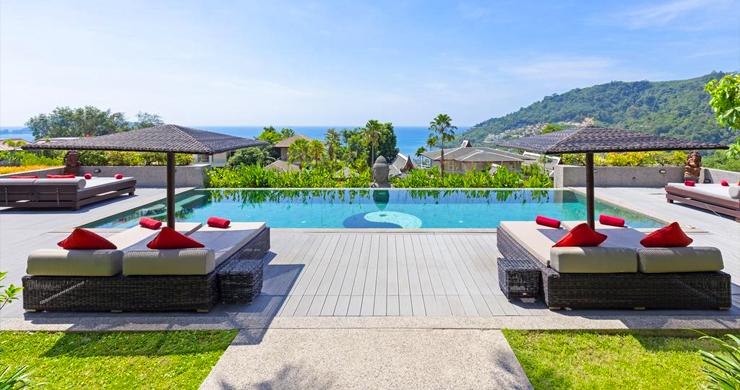 Luxury 8 Bed Tropical Sea View Pool Villa in Phuket-1