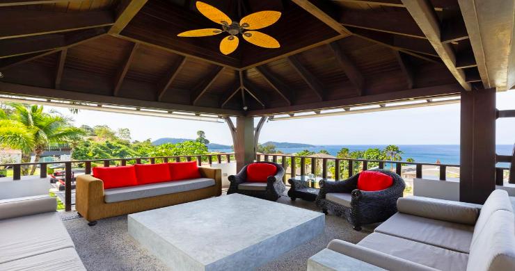 Luxury 8 Bed Tropical Sea View Pool Villa in Phuket-15