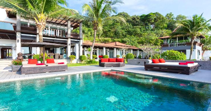 Luxury 8 Bed Tropical Sea View Pool Villa in Phuket-3