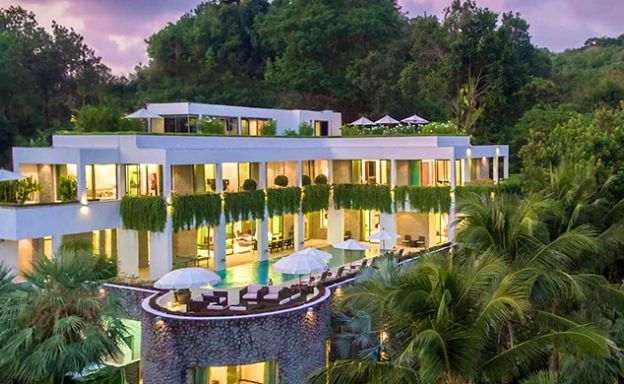 Gorgeous 6 Bedroom Sea View Villa for Sale in Phuket