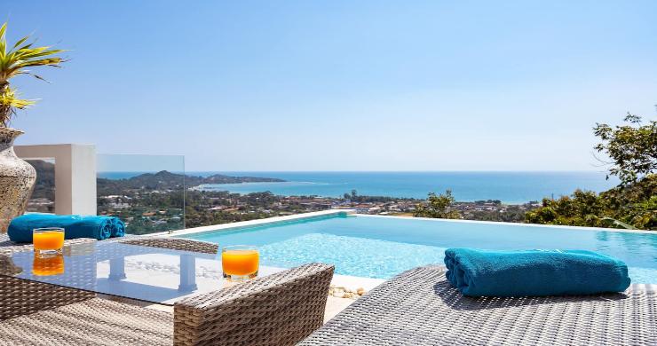 Contemporary 5 Bed Luxury Sea View Villa in Lamai-2
