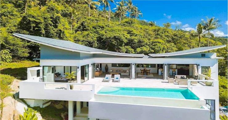 Contemporary 5 Bed Luxury Sea View Villa in Lamai-7
