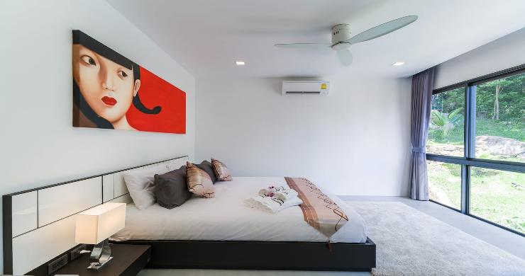 Contemporary 5 Bed Luxury Sea View Villa in Lamai-12
