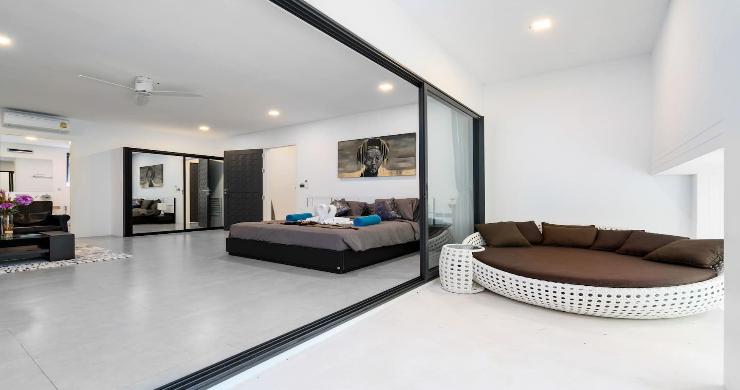 Contemporary 5 Bed Luxury Sea View Villa in Lamai-10