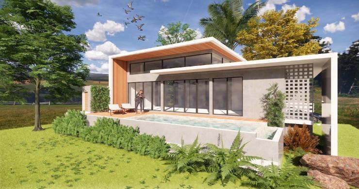 Stylish New Modern 2 Bedroom Pool Villas in Maenam-1