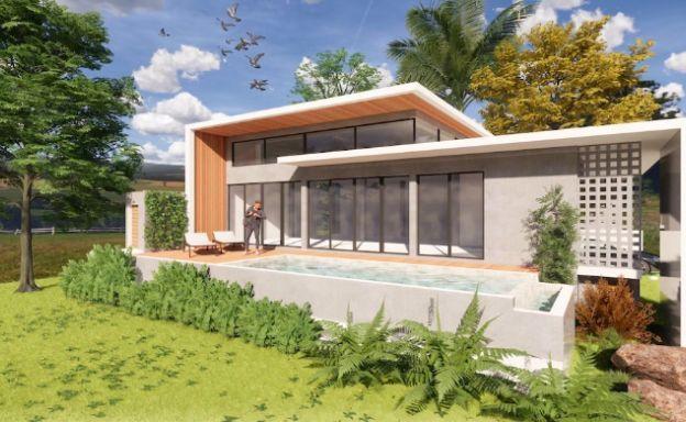 Stylish New Modern 2 Bedroom Pool Villas in Maenam