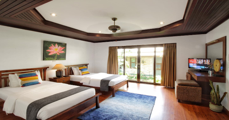 Charming 3 Bed Tropical Beachfront Villa in Laem Yai-7