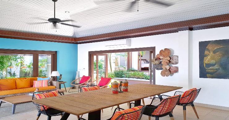 Charming 3 Bed Tropical Beachfront Villa in Laem Yai-3