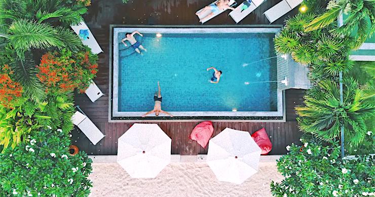 Charming 3 Bed Tropical Beachfront Villa in Laem Yai-9