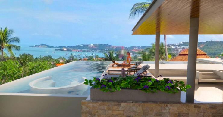 Large 7 Bed Luxury Sea-view Villa on Bangrak Bay-3