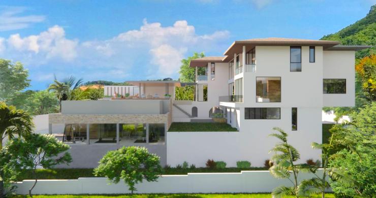 Large 7 Bed Luxury Sea-view Villa on Bangrak Bay-12