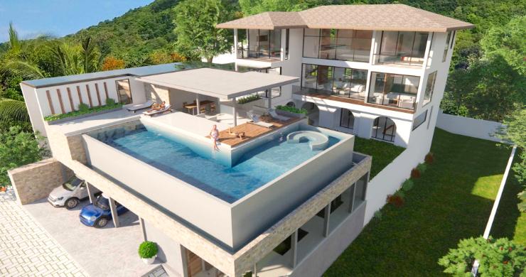 Large 7 Bed Luxury Sea-view Villa on Bangrak Bay-1