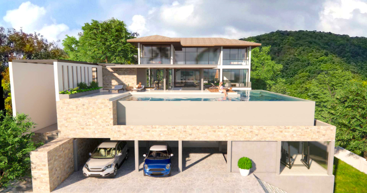 Large 7 Bed Luxury Sea-view Villa on Bangrak Bay-11