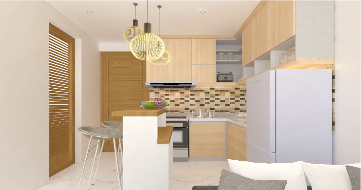 New Modern 1 Bed Sea View Pool Apartments in Lamai-4