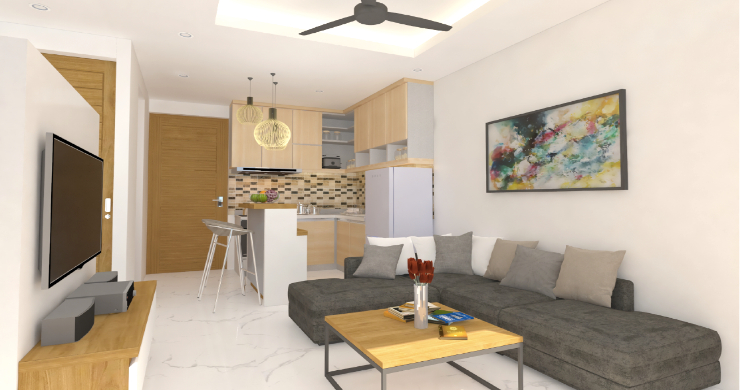 New Modern 1 Bed Sea View Pool Apartments in Lamai-2