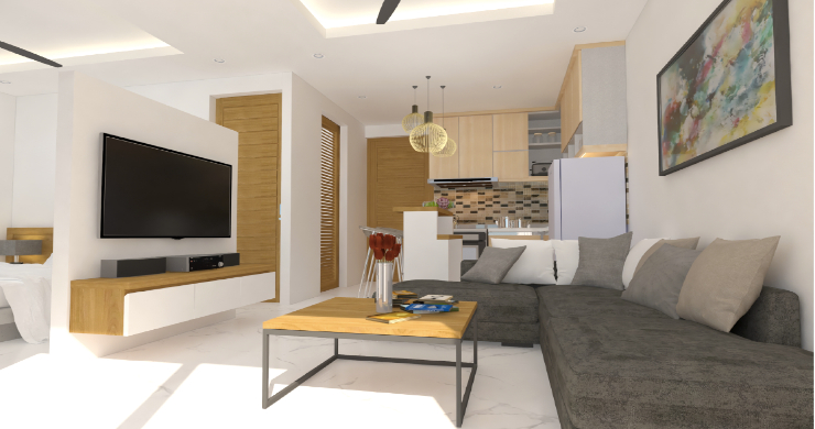 New Modern 1 Bed Sea View Pool Apartments in Lamai-3
