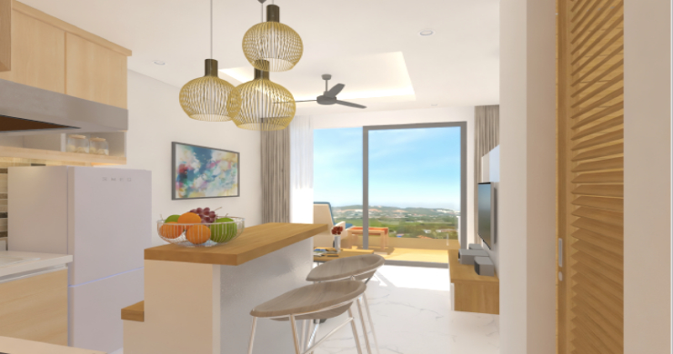 New Modern 1 Bed Sea View Pool Apartments in Lamai-5