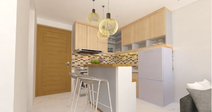 New Modern 1 Bed Sea View Pool Apartments in Lamai-9