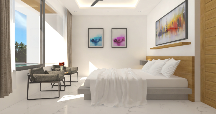 New Modern 1 Bed Sea View Pool Apartments in Lamai-8