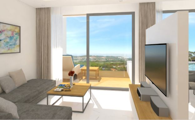 New Modern 1 Bed Sea View Pool Apartments in Lamai