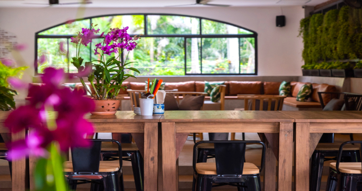 Chic Asian Fusion Restaurant for Sale in Maenam-15