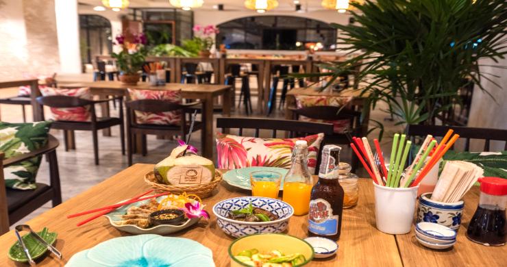 Chic Asian Fusion Restaurant for Sale in Maenam-11