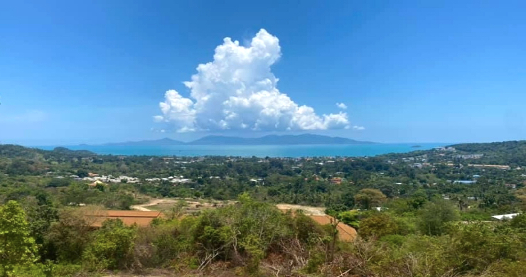 Hot Price Prime Sea-view Land for Sale in Bophut-1