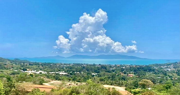Hot Price Prime Sea-view Land for Sale in Bophut-5