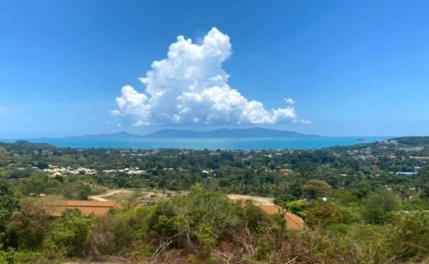 Hot Price Prime Sea-view Land for Sale in Bophut