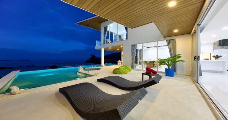 Luxury 3 Bedroom Sea View Villa in Chaweng Noi-14
