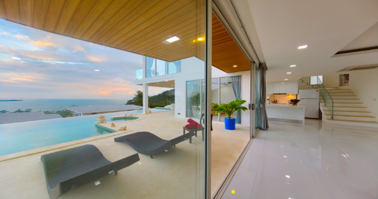 Luxury 3 Bedroom Sea View Villa in Chaweng Noi-5