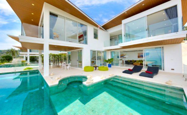 Luxury 3 Bedroom Sea View Villa in Chaweng Noi
