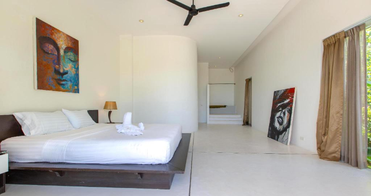 Hot Price 4 Bed Sea-view Pool Villa in Chaweng Hills-13