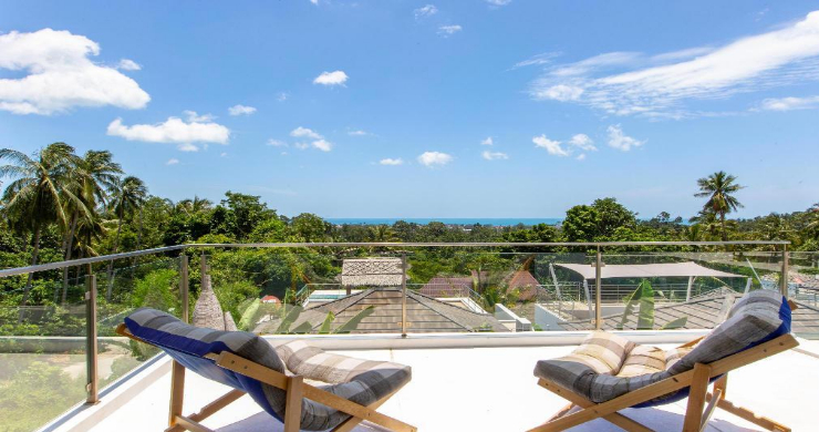 Hot Price 4 Bed Sea-view Pool Villa in Chaweng Hills-16