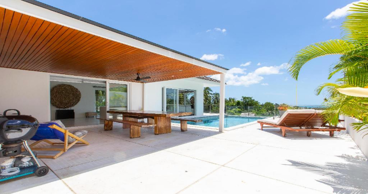 Hot Price 4 Bed Sea-view Pool Villa in Chaweng Hills-4