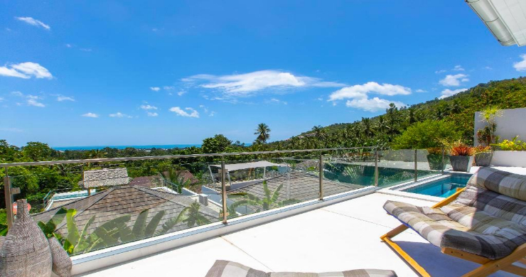 Hot Price 4 Bed Sea-view Pool Villa in Chaweng Hills-17