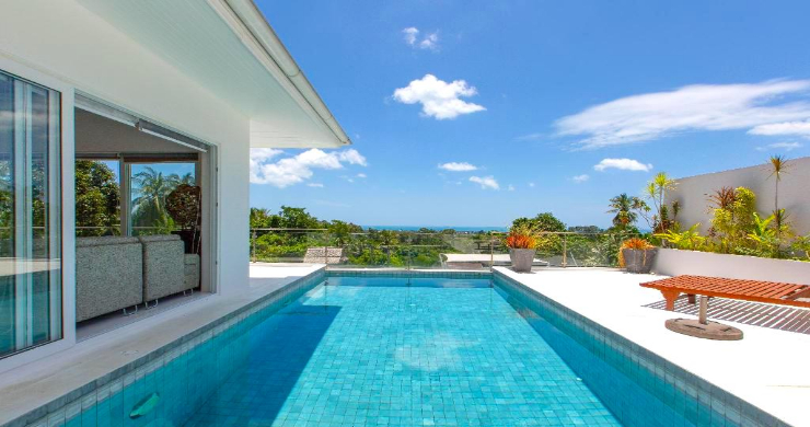 Hot Price 4 Bed Sea-view Pool Villa in Chaweng Hills-1