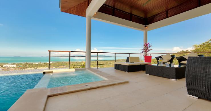 Contemporary 4 Bed Sea-view Pool Villa in Maenam-2