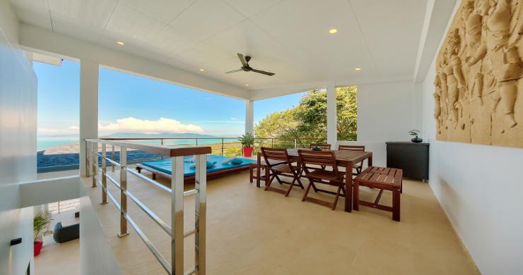 Contemporary 4 Bed Sea-view Pool Villa in Maenam-5