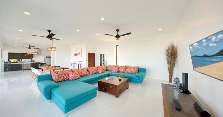 Contemporary 4 Bed Sea-view Pool Villa in Maenam-16