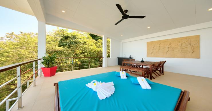 Contemporary 4 Bed Sea-view Pool Villa in Maenam-7