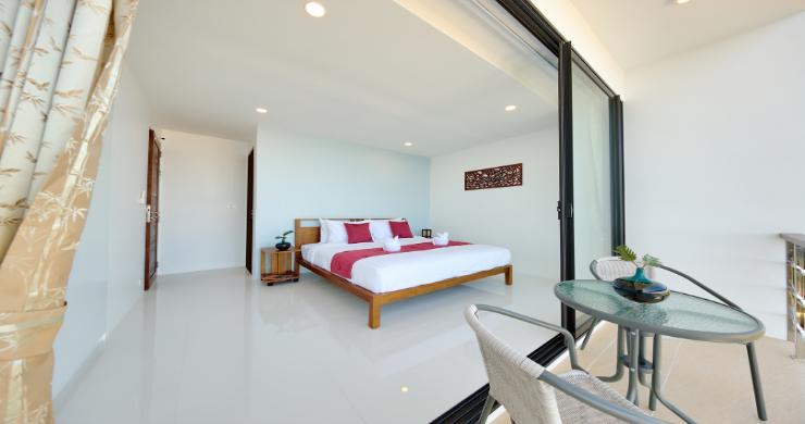 Contemporary 4 Bed Sea-view Pool Villa in Maenam-14