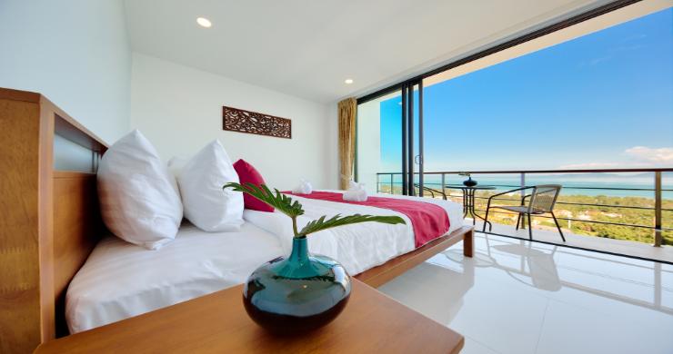 Contemporary 4 Bed Sea-view Pool Villa in Maenam-12
