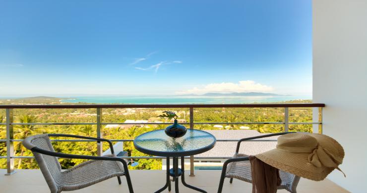 Contemporary 4 Bed Sea-view Pool Villa in Maenam-6