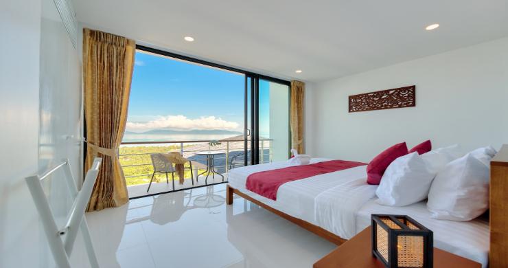 Contemporary 4 Bed Sea-view Pool Villa in Maenam-9