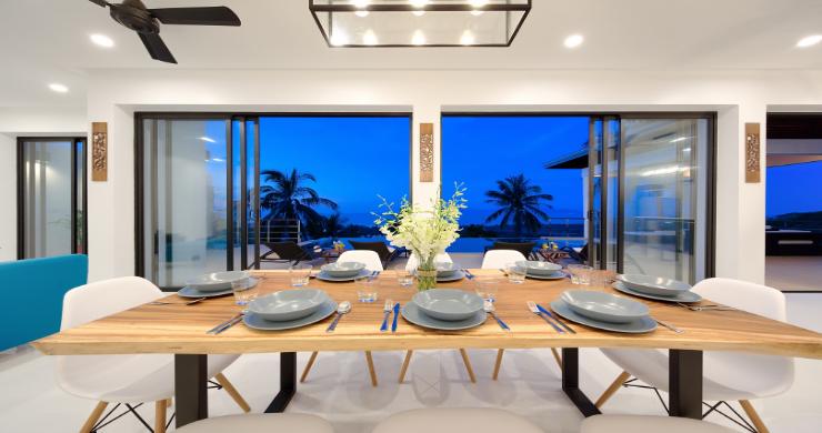 Contemporary 4 Bed Sea-view Pool Villa in Maenam-19