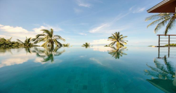 Contemporary 4 Bed Sea-view Pool Villa in Maenam-15