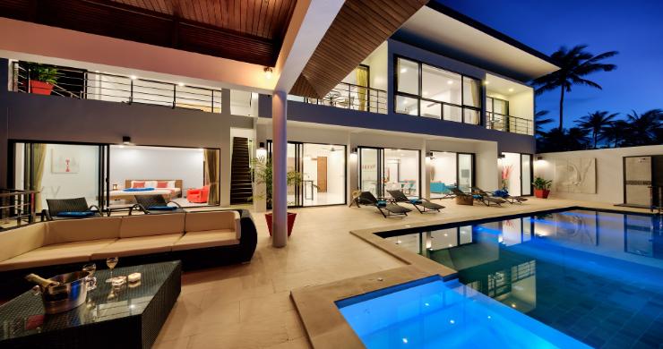 Contemporary 4 Bed Sea-view Pool Villa in Maenam-21
