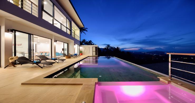 Contemporary 4 Bed Sea-view Pool Villa in Maenam-20